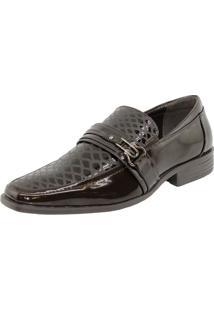 Sapato Masculino Social Marrom Broken Rules - 89110