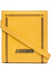 Jacquemus Bolsa Le Gadjo Mini - Amarelo