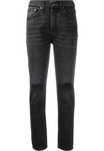 Boyish Denim Billy High Rise Slim Fit Jeans - Preto