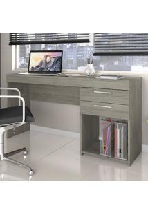 Mesa Para Computador 2 Gavetas Office Carvalho - Notavel