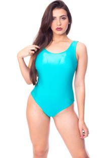 Body Moda Vicio Regata Com Bojo Decote Costas Com Elastico Azul