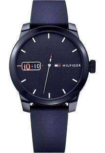 Relógio Tommy Hilfiger Masculino Borracha Azul - 1791381