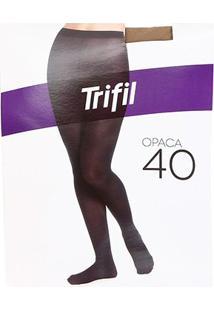 Meia Calça Trifil Opaca - Feminino-Bege
