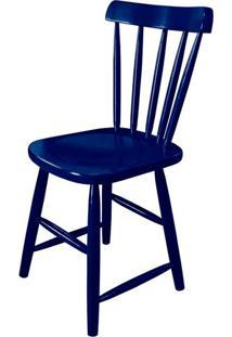 Cadeira Skand Assento Escavado Cor Azul - 33365 - Sun House