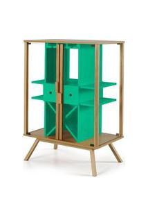 Cristaleira Mystic Cor Natural Com Verde Anis - 27639 Sun House