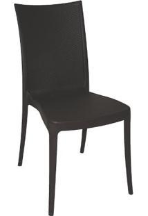 Cadeira Laura Ratan Marrom Summa - Tramontina