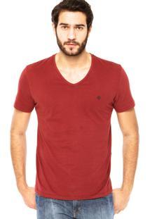 Camiseta Forum V Vinho