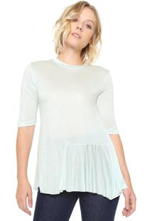 Blusa Finery London Frill Side Verde