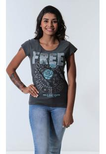 Camiseta Free Feminina Km