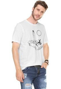 Camiseta Diesel Just Branca