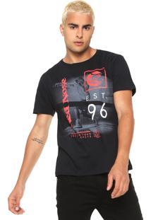 Camiseta Red Nose Est 96 Preta