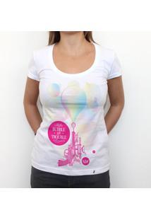 Bubble Gum - Camiseta Clássica Feminina