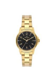 Relógio Technos Feminino Classic Dourado Analógico 2035Mtp1P