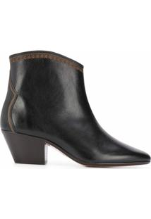 Isabel Marant Ankle Boot Dacken - Preto