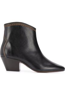 Isabel Marant Ankle Boot Dacken - Preto