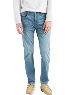Calça Jeans Levi'S Regular Taper Masculina - Masculino-Azul Claro