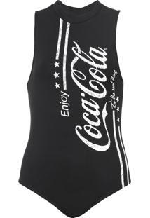 Body Coca-Cola Jeans Aroma Preto - Kanui