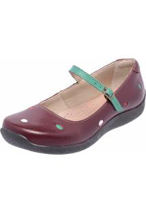 4a3720dbdd ... Sapatilha Casual Conforto Em Couro Dr Shoes Vinho
