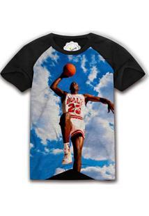 Camiseta The Garage Custom Tees Jordan Sky