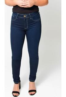 Calça Feminina Jeans Skinny Jeans Azul