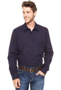 Camisa Forum Slim Roxa