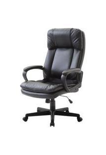 Cadeira Office Derek Preta Base Nylon 122Cm - 47017 Preto