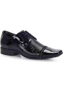 Sapato Social Conforto Masculino Jota Pe - Preto