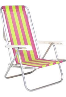 Cadeira Reclinã¡Vel 8 Posiã§Ãµes AlumãNio Multicolorido Belfix - Multicolorido - Dafiti