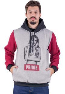 Moletom Canguru Prime Girl - - Masculino