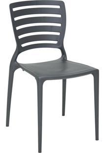 Cadeira Sofia Tramontina 92237007 Grafite