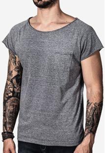 Camiseta Eco Preto Manga Curta 100729