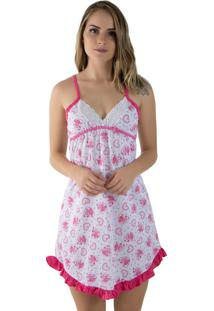 Camisola Linha Noite Pink - Tricae