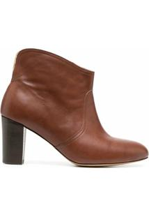 Tila March Ankle Boot Cowboy Neal - Marrom