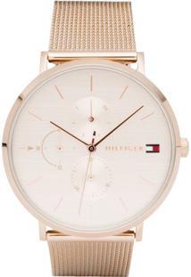 Relógio Digital Couro Tommy Hilfiger feminino   Shoelover 4a2e353f4c