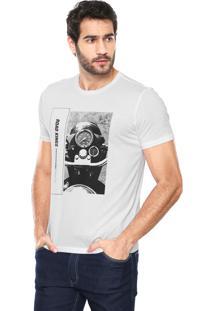 Camiseta Ellus Road Branca