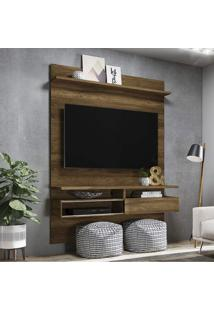 Painel Home Para Tv Até 60 Polegadas Sírius Colibri Canela Rústico