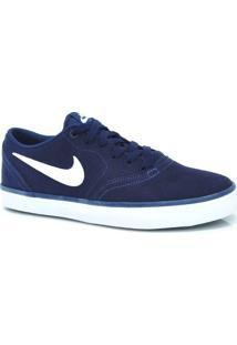 Tênis Azul Nike Sb Check Solar