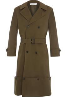 Jw Anderson Trench Coat - Verde