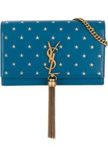 Saint Laurent Bolsa Kate Com Tassel - Azul