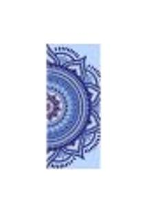 Adesivo Decorativo De Porta - Mandala - 2617Cnpt