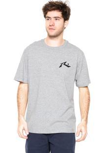 Camiseta Rusty Underwater Cinza