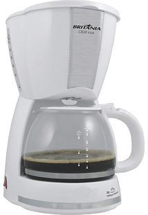 Cafeteira Inox Branco Britânia 127V Cb30