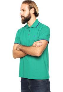 Camisa Polo John John Lines Verde