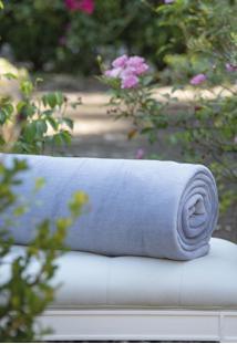 Cobertor Microfibra Azul - Scavone