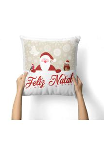 Capa De Almofada Love Decor Avulsa Decorativa Feliz Natal