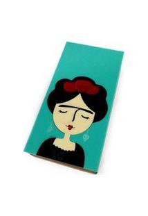 Bolsa Clutch Frida Verde