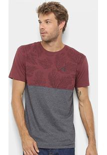 Camiseta Hang Loose Estampada Coral Masculina - Masculino