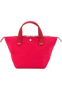 Cabas Bolsa Tote Pequena 'Bowler' - Vermelho
