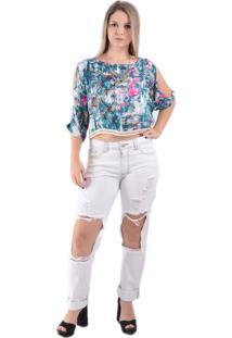 Blusa Lady Rock Basic Colorido