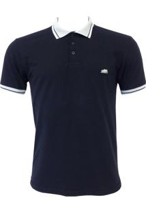 Camisa Polo Santa Fe Básico Preta